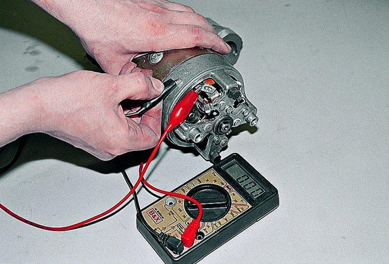 Фото №17 - как проверить якорь стартера ВАЗ 2110