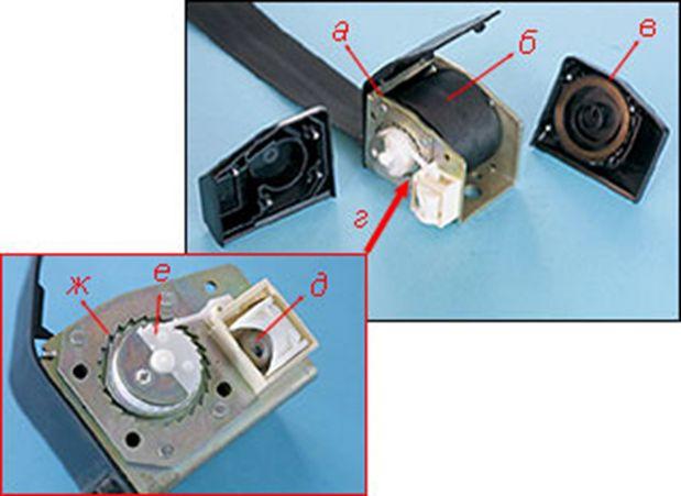 Фото №22 - ремонт ремня безопасности ВАЗ 2110