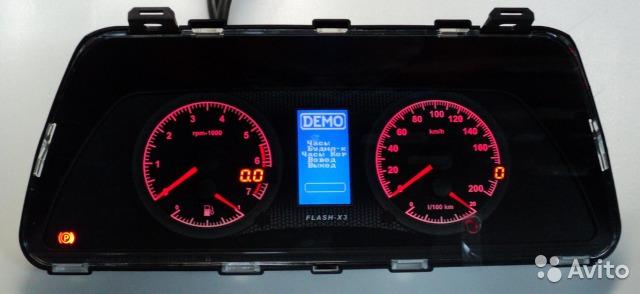 Фото №18 - электронная панель приборов на ВАЗ 2110