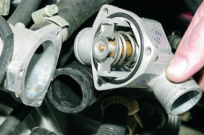 Фото №14 - элемент термостата ВАЗ 2110
