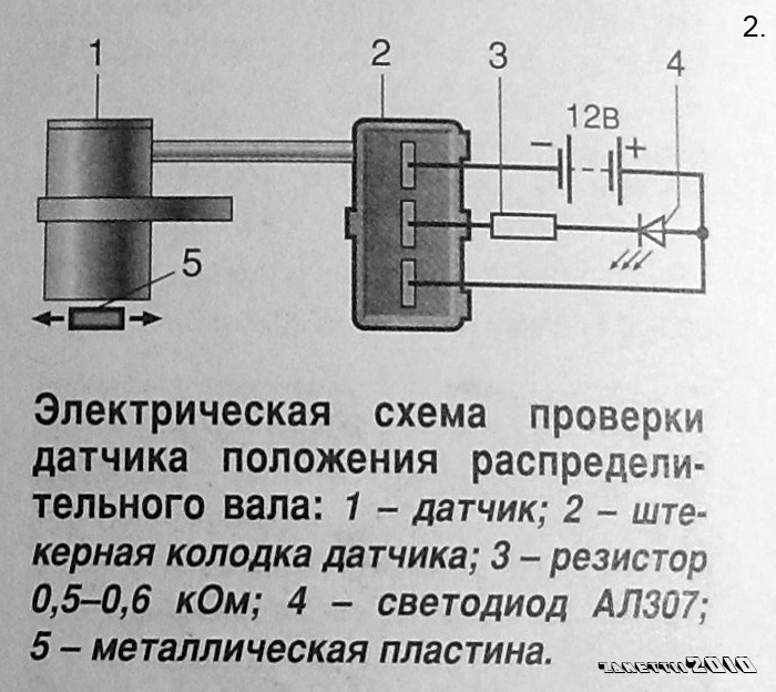 Фото №27 - как проверить датчик распредвала ВАЗ 2110