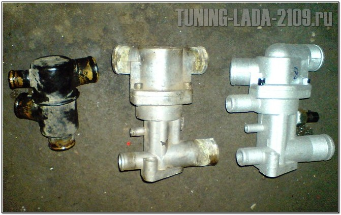 Фото №27 - замена термостата на ВАЗ 2110