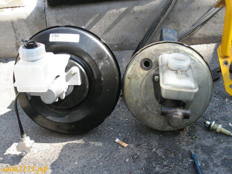 Фото №17 - вакуумный усилитель тормозов ВАЗ 2110 ремонт