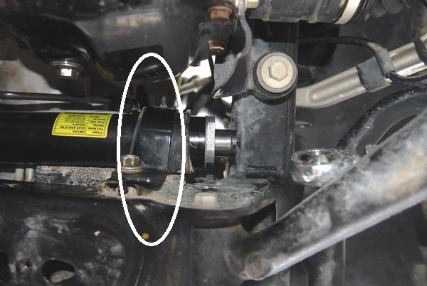 Фото №2 - биение руля при повороте ВАЗ 2110
