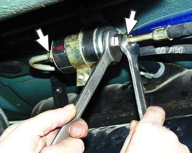 Фото №41 - замена топливного фильтра ВАЗ 2110