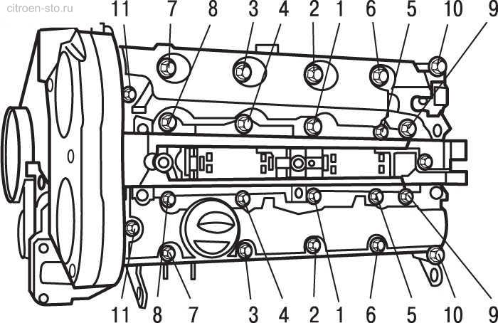 Фото №19 - порядок затяжки головки ВАЗ 2110