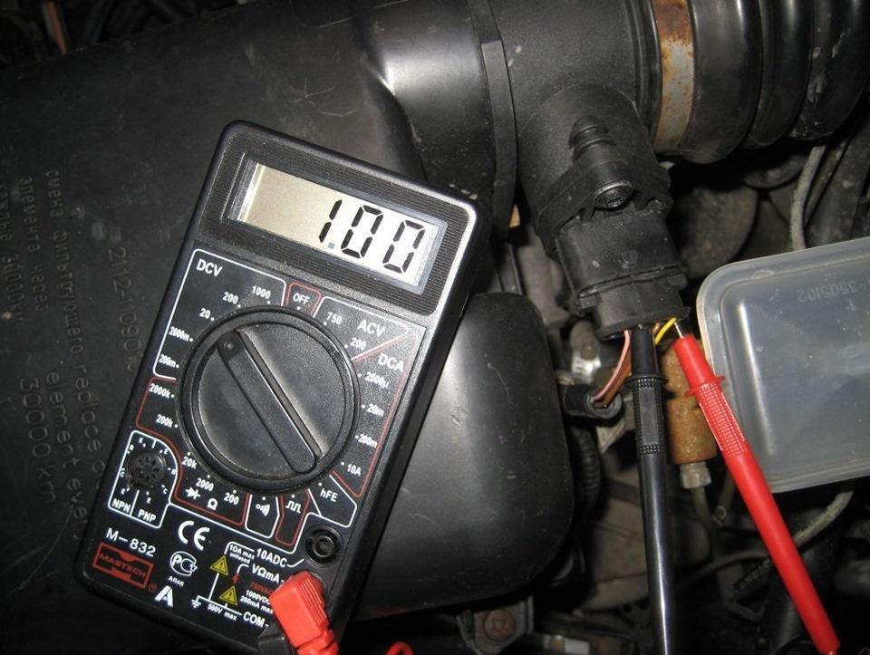 Фото №3 - как проверить датчик топлива ВАЗ 2110
