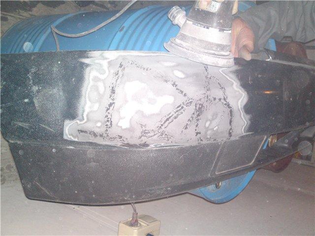 Фото №21 - ремонт бампера ВАЗ 2110 своими руками