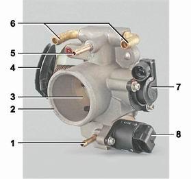 Фото №1 - устройство инжектора ВАЗ 2110