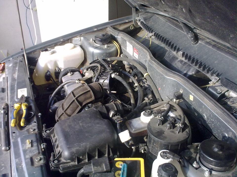 Фото №27 - чистка дроссельной заслонки ВАЗ 2110 16 клапанов