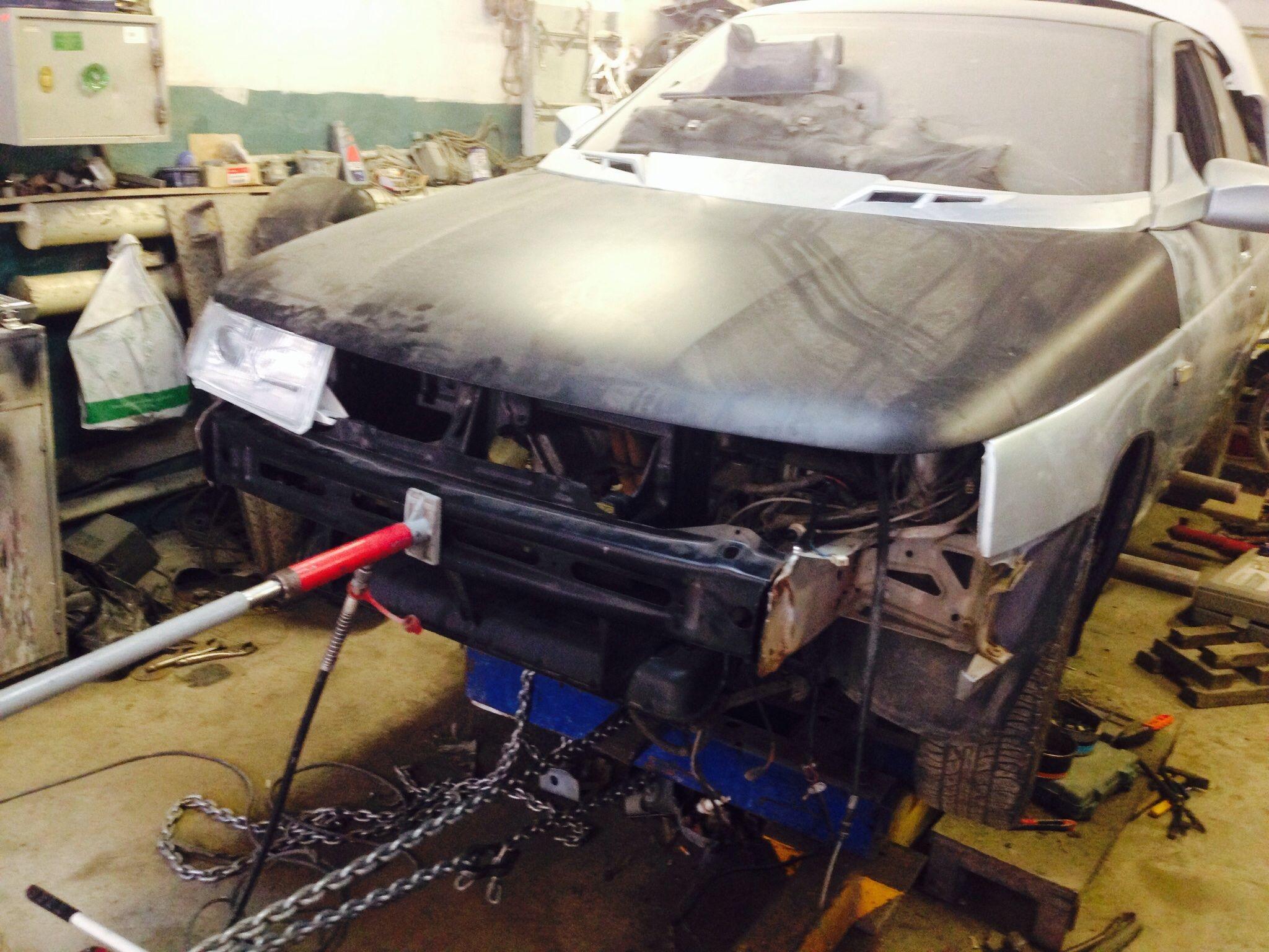 Фото №22 - ремонт кузова ВАЗ 2110 своими руками
