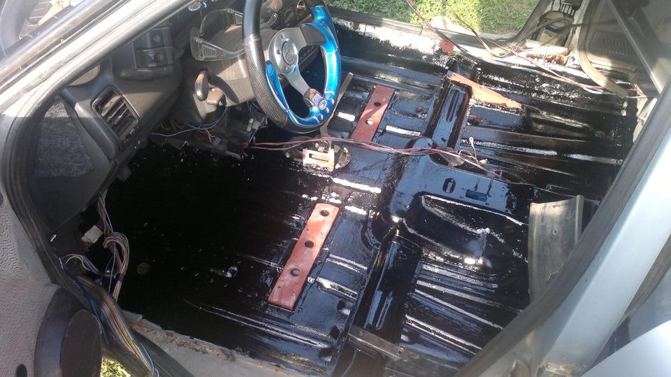 Фото №14 - ремонт кузова ВАЗ 2110 своими руками