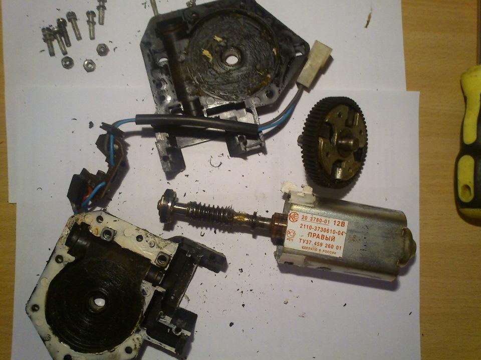 Фото №32 - ремонт стеклоподъемника ВАЗ 2110