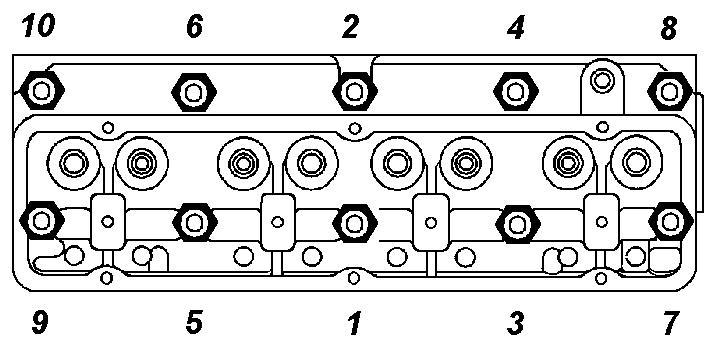 Фото №5 - порядок затяжки головки блока цилиндров ВАЗ 2110 8 клапанов