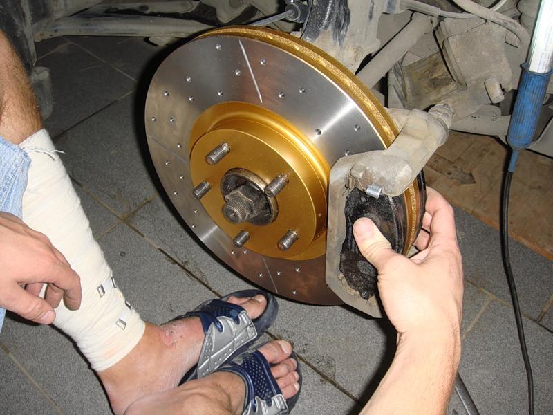 Фото №13 - греется переднее колесо ВАЗ 2110