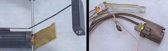 Фото №21 - ВАЗ 2110 ремонт датчика уровня топлива