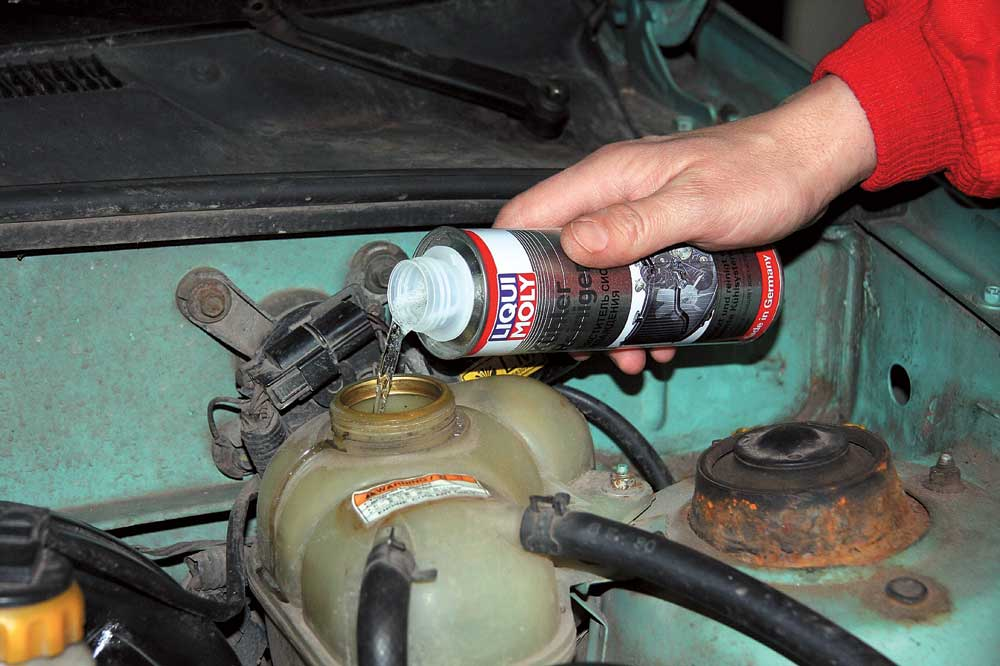 Фото №21 - промывка системы охлаждения ВАЗ 2110