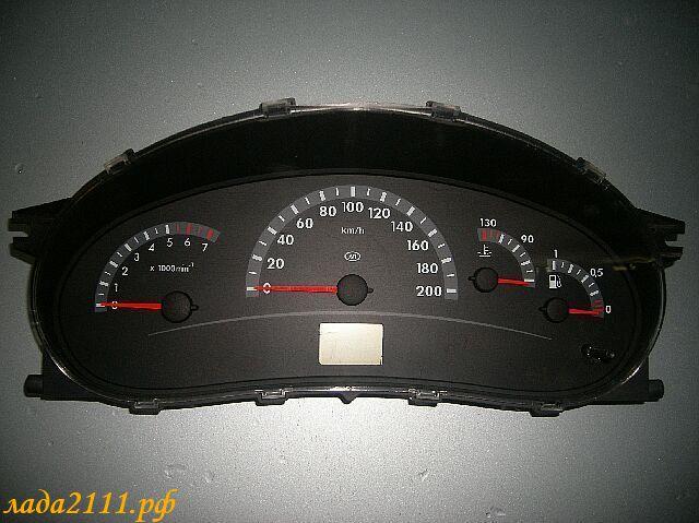 Фото №42 - панель приборов приора в ВАЗ 2110