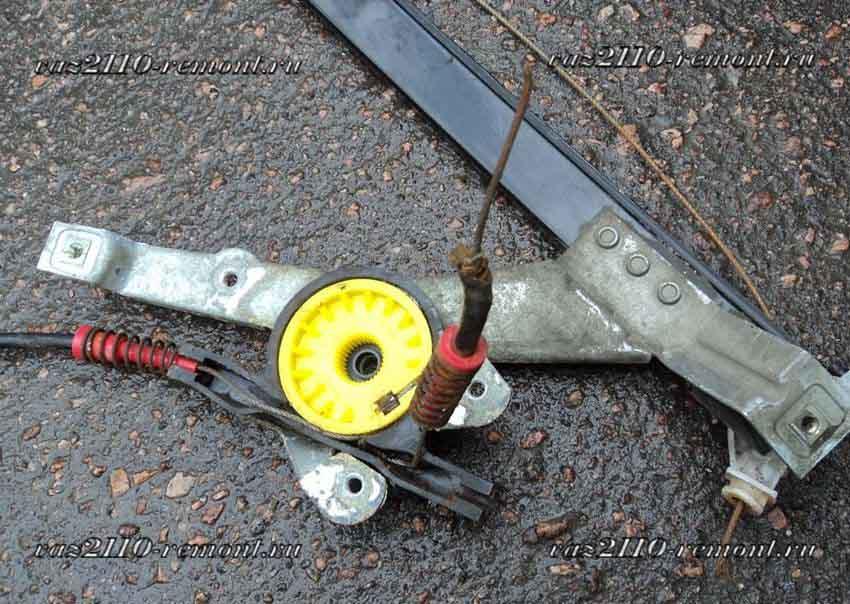Фото №25 - ремонт стеклоподъемника ВАЗ 2110
