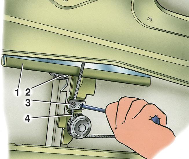 Фото №22 - регулировка стеклоподъемника ВАЗ 2110