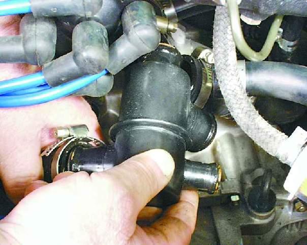 Фото №8 - замена термостата ВАЗ 2110