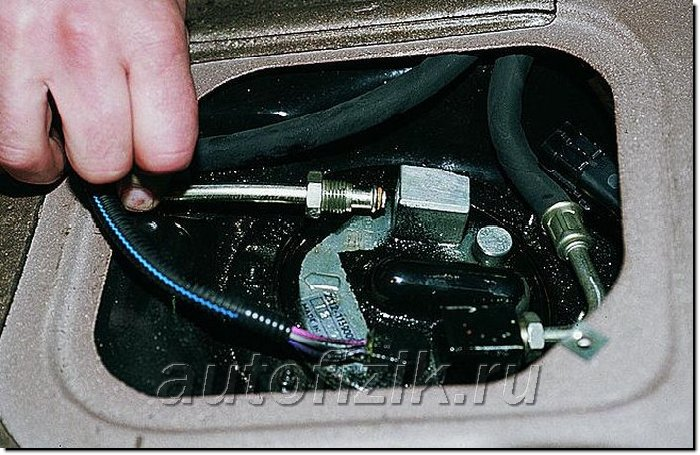 Фото №22 - как проверить работу бензонасоса ВАЗ 2110