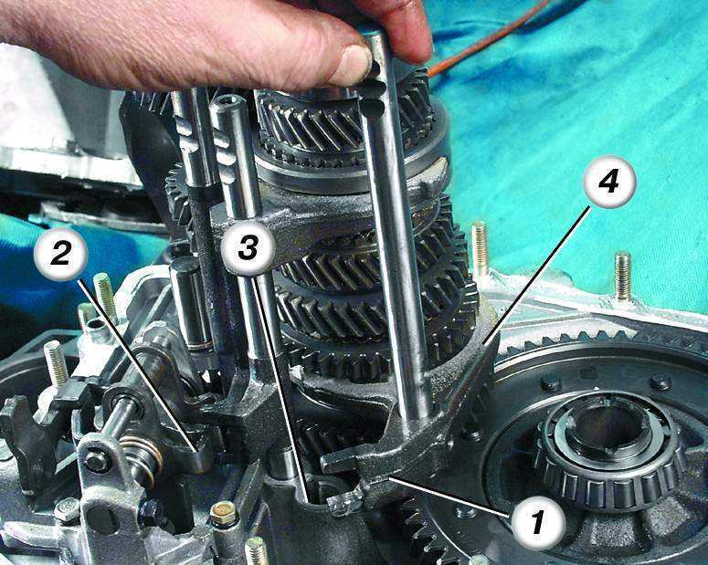Фото №5 - ремонт кпп ВАЗ 2110 своими руками