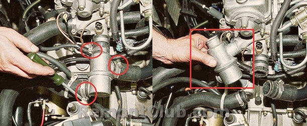 Фото №3 - замена термостата ВАЗ 2110 8 клапанов инжектор