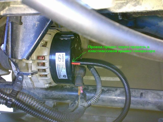 Фото №11 - трёхуровневый регулятор напряжения на ВАЗ 2110