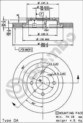 Фото №35 - толщина тормозного диска ВАЗ 2110