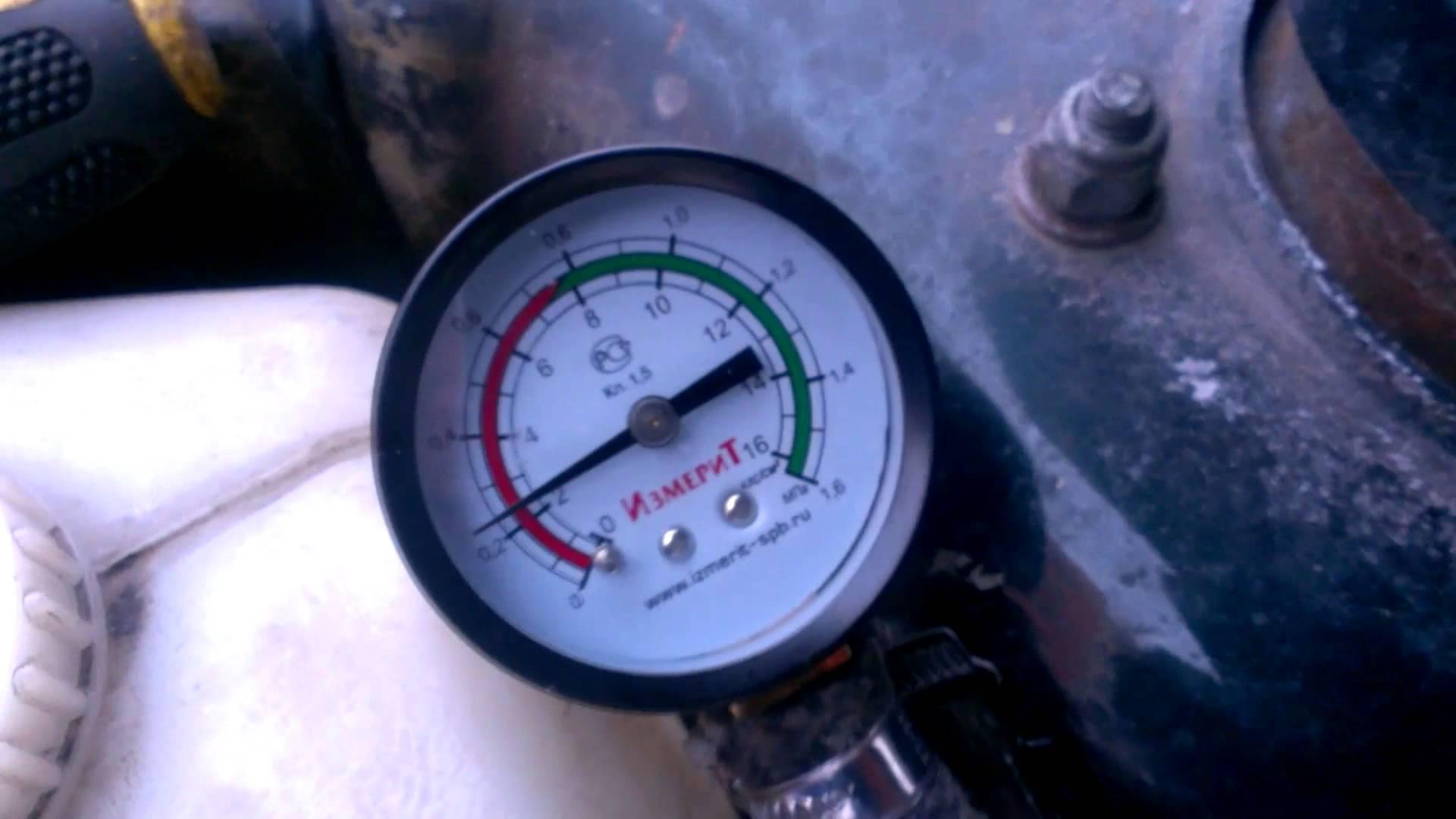 Фото №19 - давление топлива ВАЗ 2110