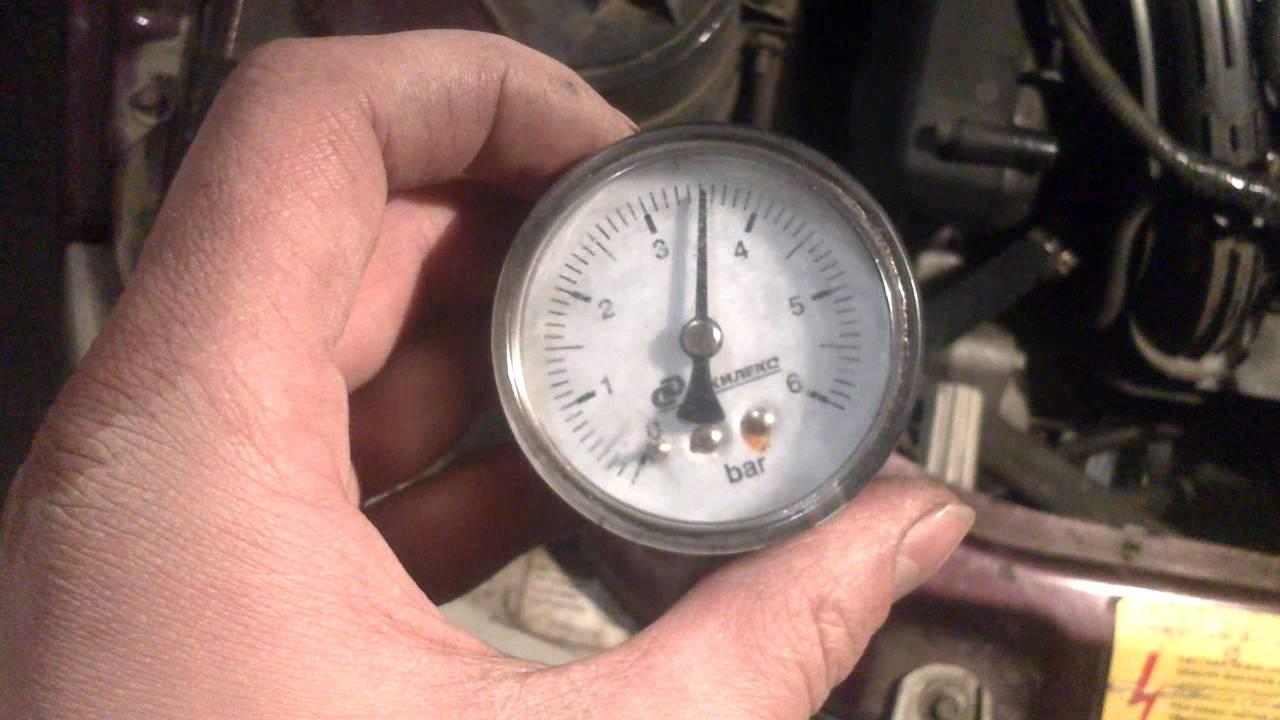 Фото №1 - ВАЗ 2110 низкое давление в рампе