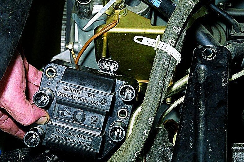 Фото №15 - нумерация цилиндров ВАЗ 2110