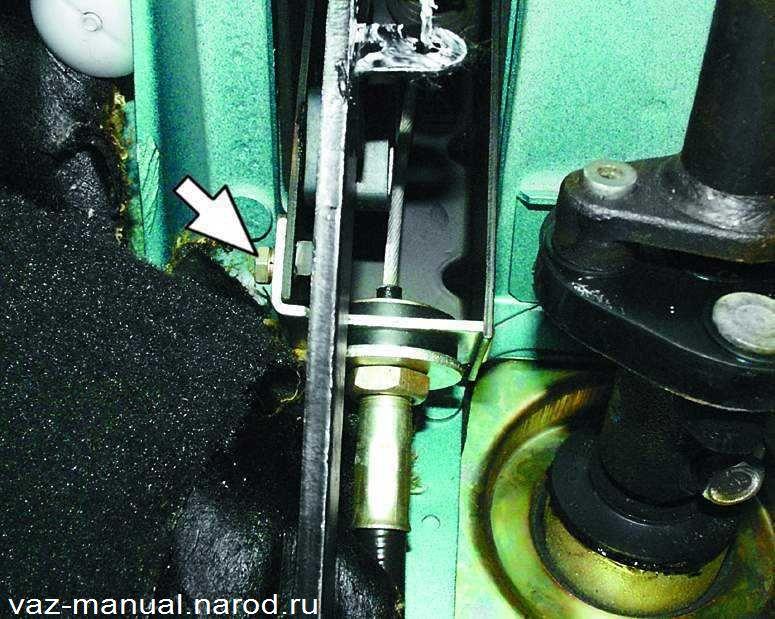 Фото №17 - замена троса сцепления ВАЗ 2110