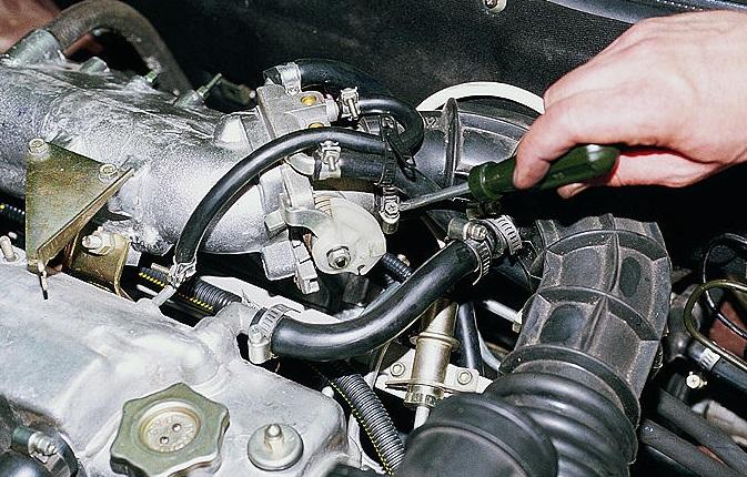 Фото №27 - промывка дроссельного узла ВАЗ 2110