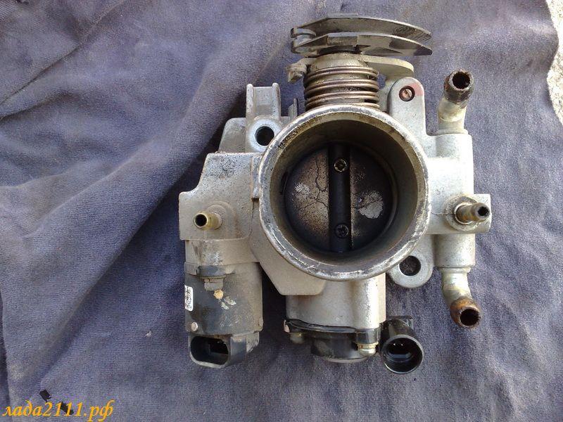 Фото №24 - промывка дроссельного узла ВАЗ 2110