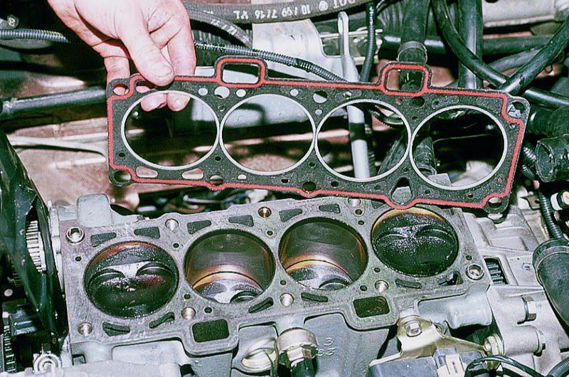 Фото №7 - замена прокладки головки блока цилиндров ВАЗ 2110