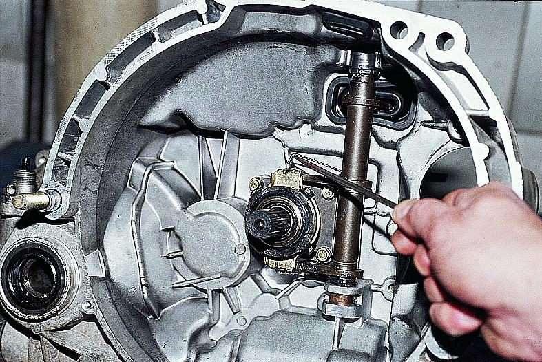 Фото №21 - подшипники коробки передач ВАЗ 2110