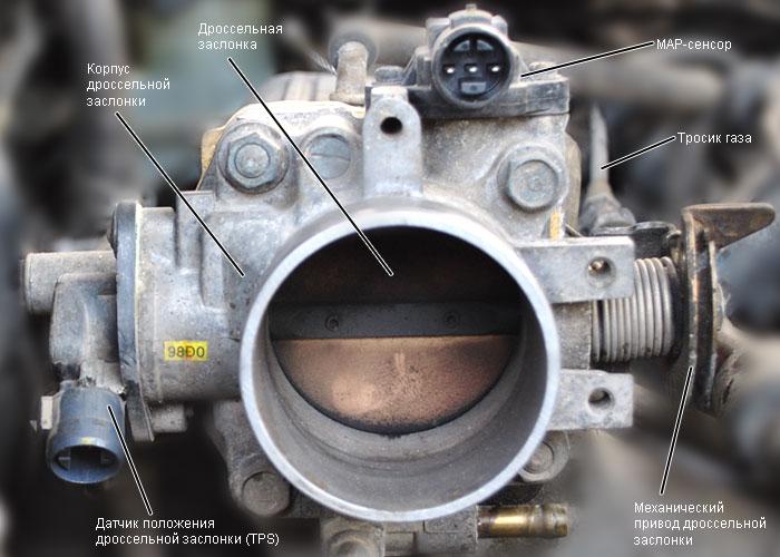 Фото №5 - чистка дроссельной заслонки заслонки ВАЗ 2110