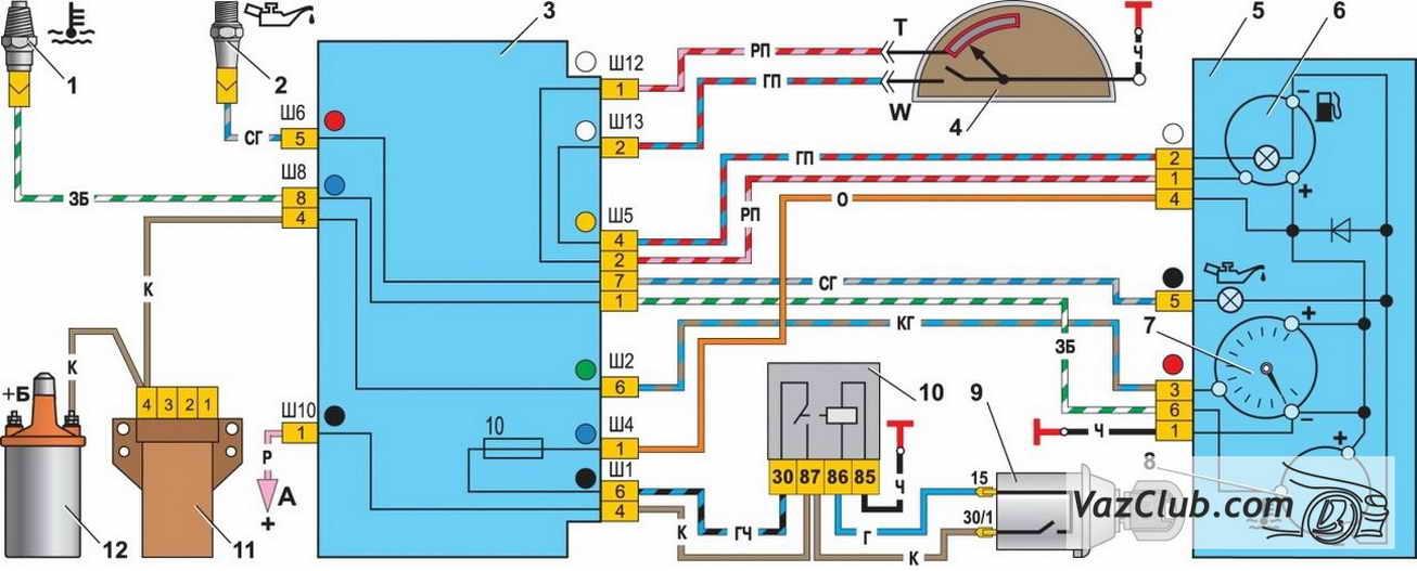 Фото №12 - не работает стрелка уровня топлива ВАЗ 2110 карбюратор