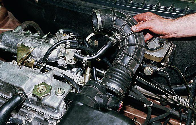 Фото №9 - почему масло попадает в воздушный фильтр ВАЗ 2110