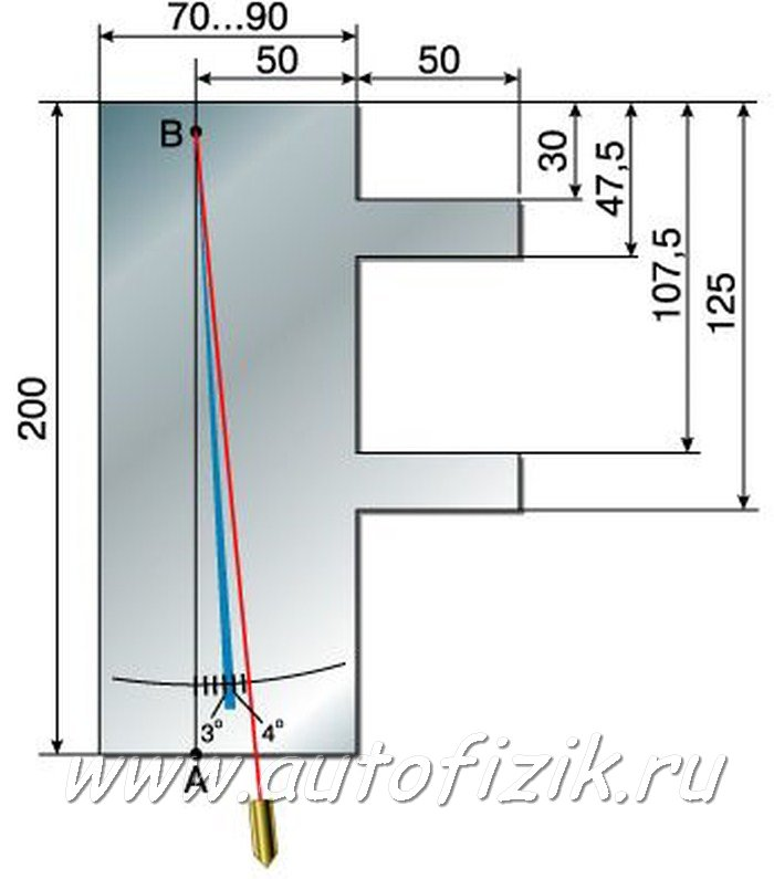 Фото №11 - регулировка угла продольного наклона оси поворота ВАЗ 2110