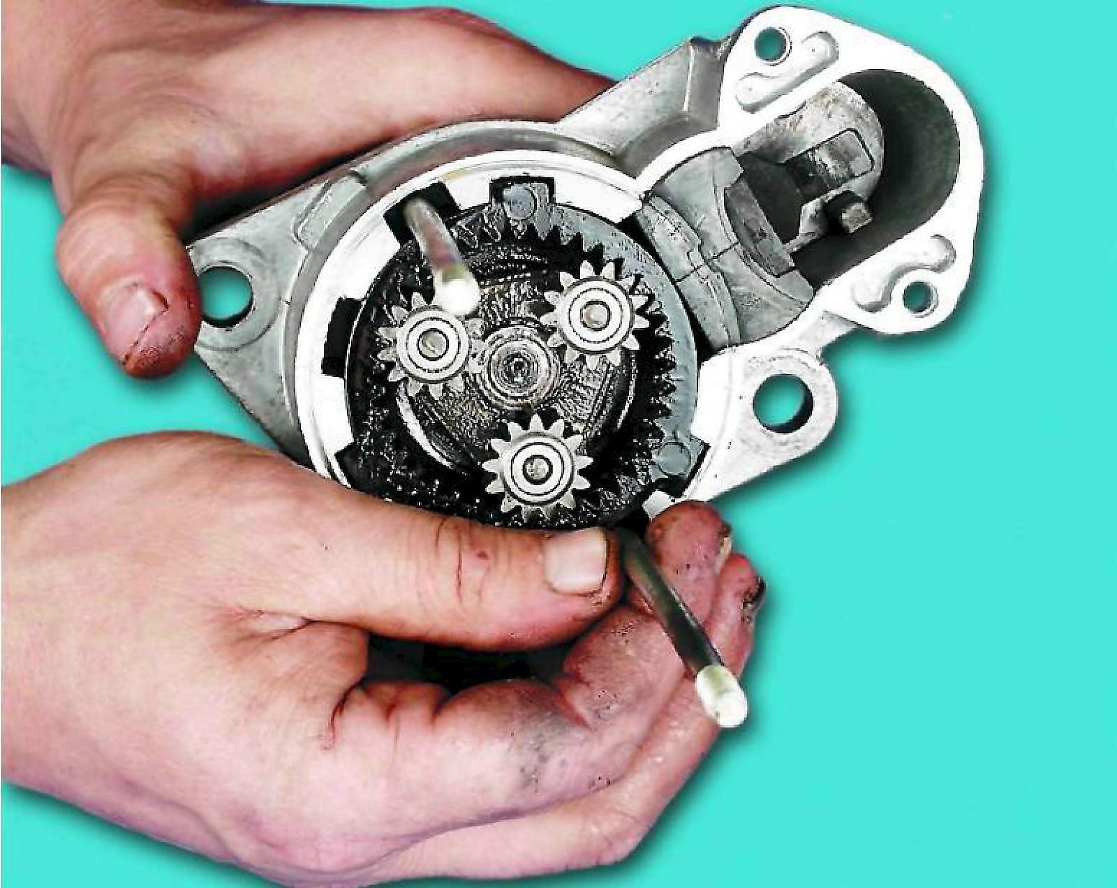 Фото №22 - стартер ВАЗ 2110 редукторный ремонт